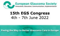 THE 15TH EGS CONGRESS 2022 - EUROPEAN GLAUCOMA SOCIETY